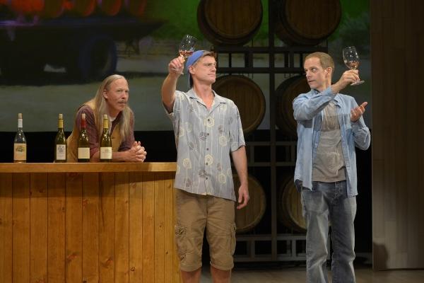 Mike Sears, Sean Allan Krill and Patrick Breen