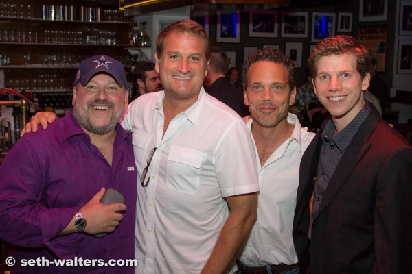 Frank Wildhorn, Jeff Calhoun, Ivan Menchell and Stark Sands