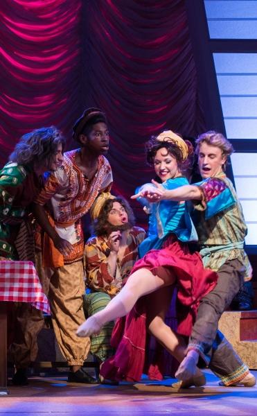 Performing ''Those Canaan Days'' (David Kirsch, Kyshawn Lane, Cullen Law, Alissa Tucker, Scott Shedenhelm)