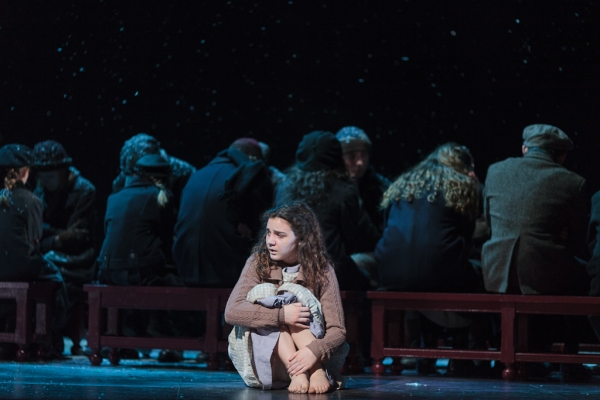 Victoria Munro in The Glimmerglass Festival''s 2013 production of David Lang''s the little match girl passion