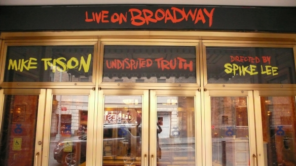 Up on the Marquee: MIKE TYSON: UNDISPUTED TRUTH Films at Imperial Theatre