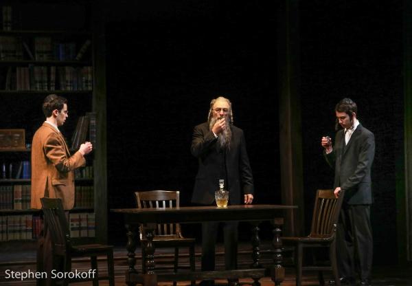 Jeff Cutler, Richard Schiff, Ben Rosenbach Photo