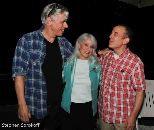 Jeff McCarthy, Jamie deRoy, Adam Heller Photo