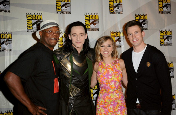 Johansson, Hiddleston & Stan Appear At Comic Con