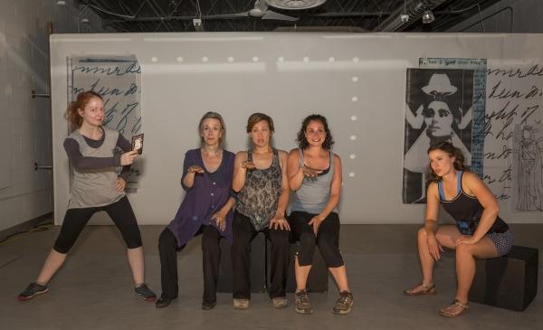 Elizabeth Stromsness, Maggie Low, Liz Douglas, Rachel Evans, and Courtney Brown Photo