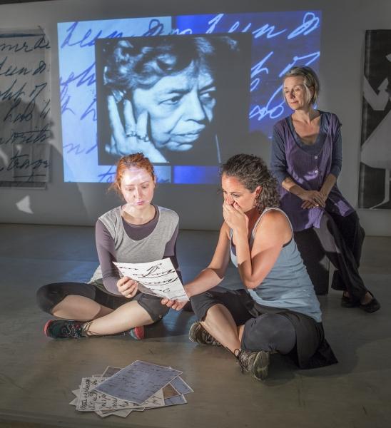 Elizabeth Stromsness, Rachel Evans, and Maggie Low Photo