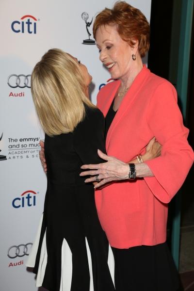 Kristin Chenoweth and Carol Burnett