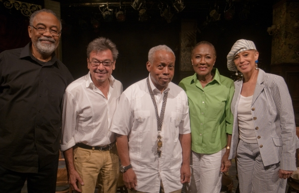 William Foster McDaniel,  Bill Castellino, Ed Bullins, Ernestine Jackson and Mercedes Ellington