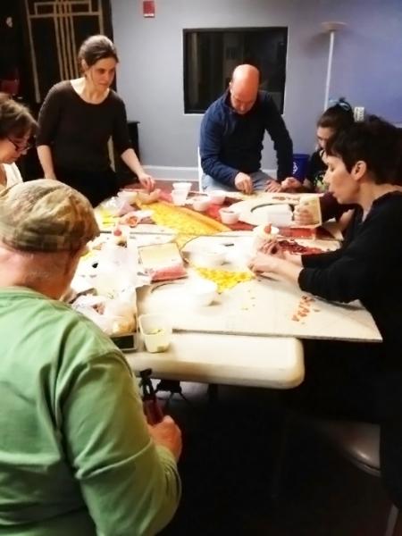 Photo Flash: Maryland Ensemble Theatre Hosts ART PARTY MET 2013; Unveils Phoenix Rising Mural