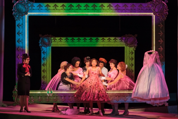 Jacqueline Echols as Giulietta with members of the ensemble