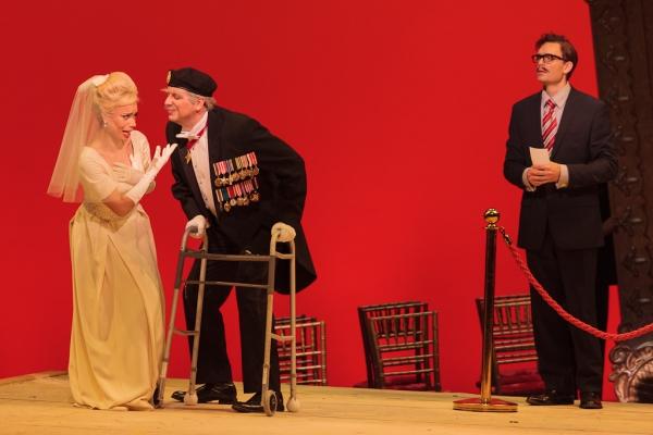 Ginger Costa-Jackson as Marchesa, Joe Shadday as Count Ivrea and Jason Hardy as Baron Photo