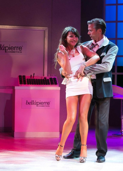 Lizzie Cundy (Zoe) and Tim Flavin (Mr Frank)
