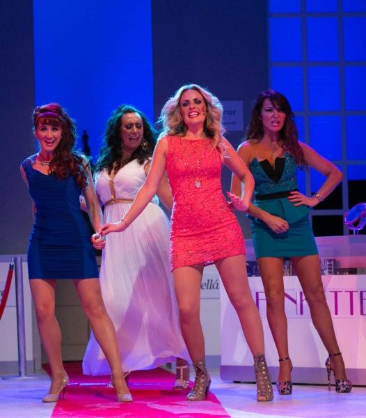 Nia Jermin (Charmaine), Alyssa Kyria (Ariadne the Greek Wag), Pippa Fulton (Vicci), L Photo