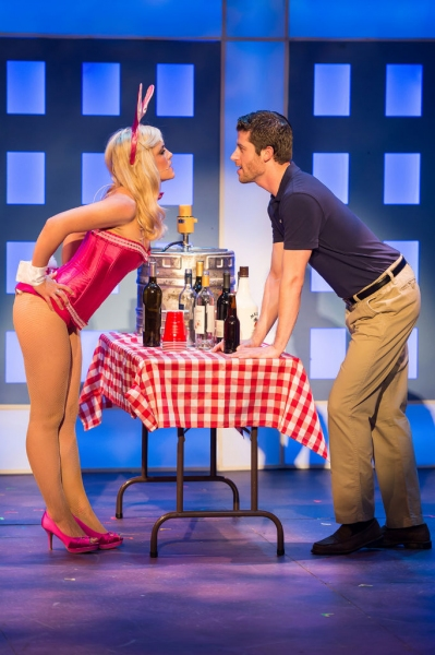 Michelle London (Elle Woods) and Brandon Davidson (Warner Huntington III)