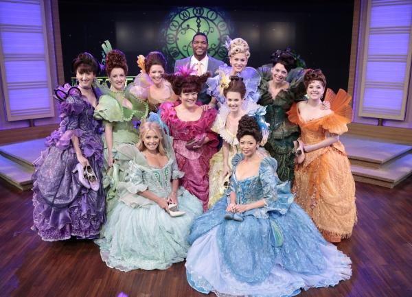 CINDERELLA Cast, KELLY RIPA, MICHAEL STRAHAN Photo