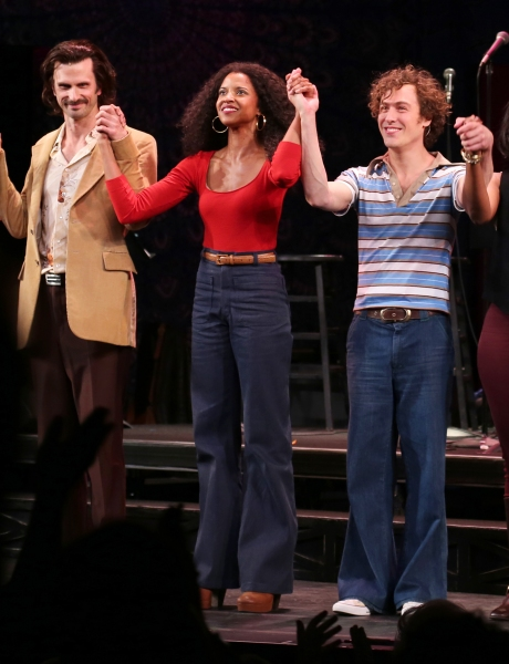 Frederick Weller, Renee Elise Goldsberry and Jason Rabinowitz