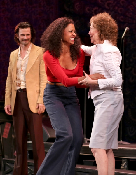 Frederick Weller, Renee Elise Goldsberry and Gretchen Cryer  Photo