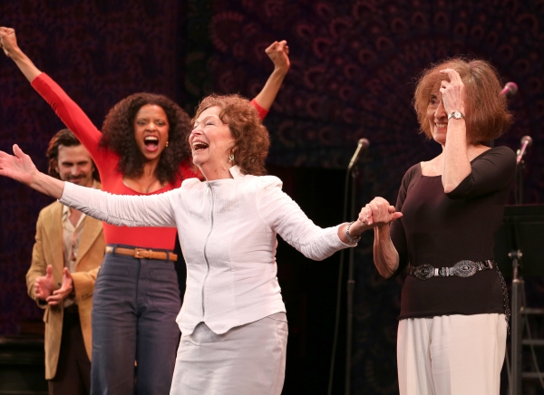 Frederick Weller, Renee Elise Goldsberry, Gretchen Cryer and Nancy Ford  Photo