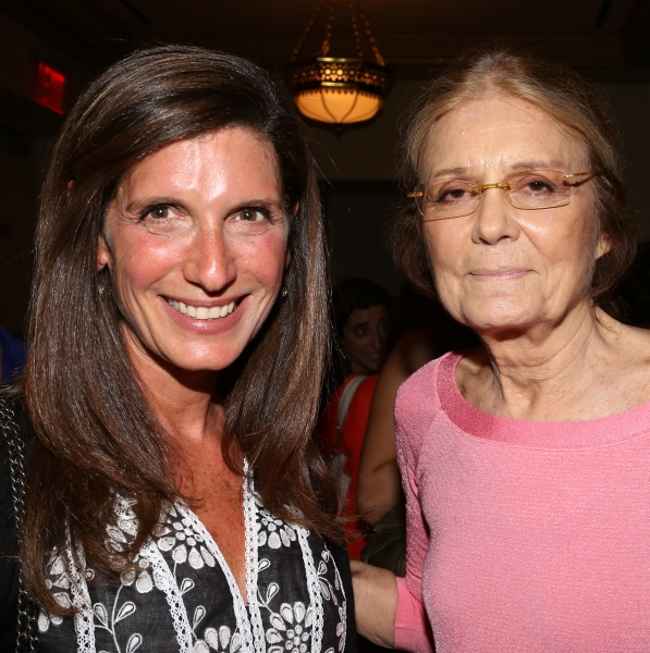 Stacey Mindich and Gloria Steinem