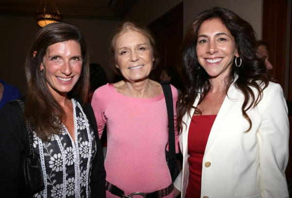 Stacey Mindich, Gloria Steinem and Stacy Bash-Polley  Photo