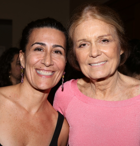 Jeanine Tesori and Gloria Steinem