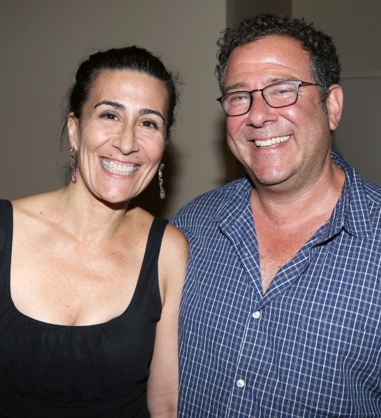 Jeanine Tesori and Michael Greif