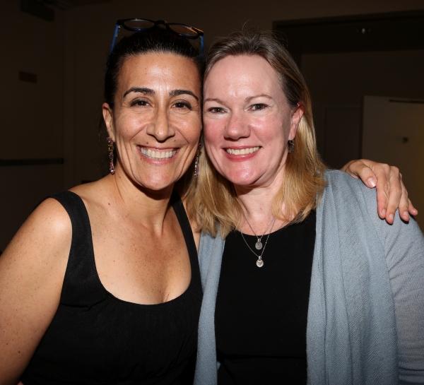 Jeanine Tesori and Kathleen Marshall