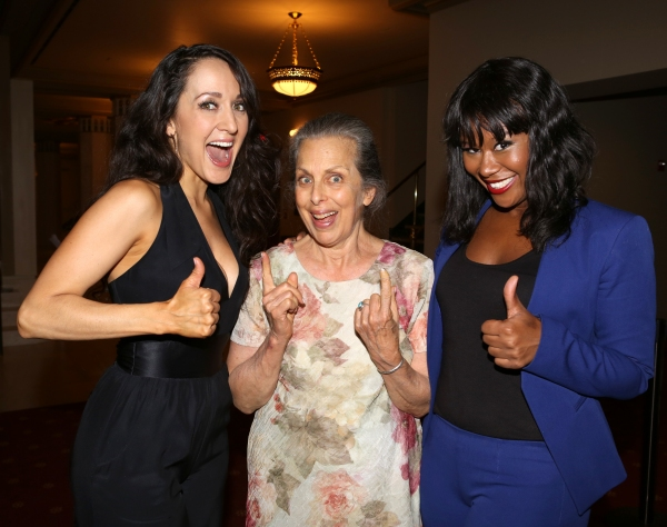 EXCLUSIVE Photo Coverage: Renee Elise Goldsberry & More Celebrate Opening Night of I'M GETTING MY ACT TOGETHER AND TAKING IT ON THE ROAD