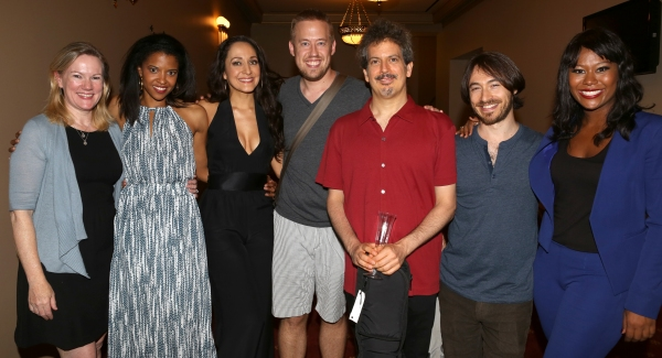 Kathleen Marshall, Renee Elise Goldsberry, Jennifer Sanchez, Chris Fenwick, Alec Berlin, Damien Bassman and Christina Sajous