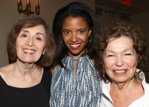 Nancy Ford, Renee Elise Goldsberry and Gretchen Cryer