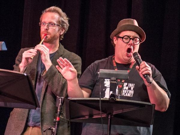 Doug Chapman and Josh Lamon Photo