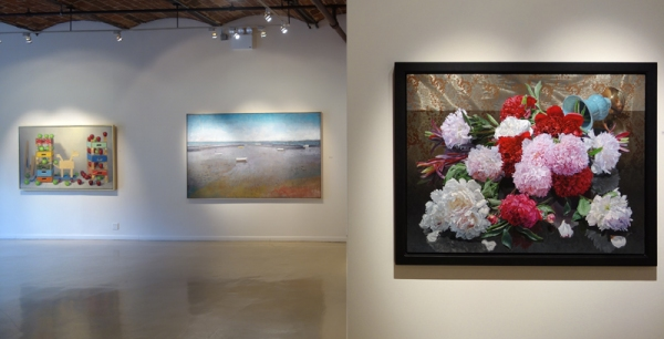 Robert C. Jackson, Trojan Horse, Oil on Linen, 44'' x 72''; 