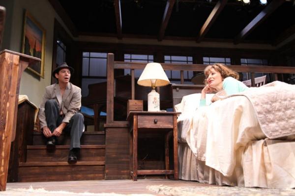 David Adkins and Corinna May