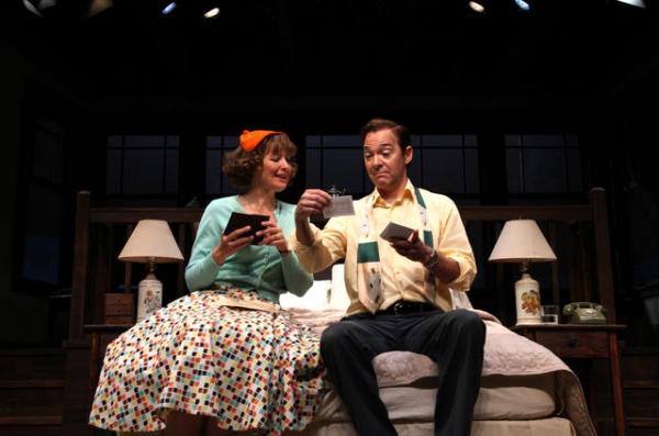 Corinna May and David Adkins
