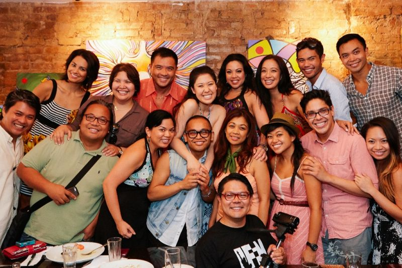 Photo Flash: HERE LIES LOVE Cast Engages in Conversation with Filipino Americans