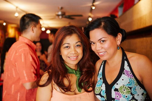 ABS-CBN Producer Monette Rivera and Melody Butiu, who plays Estrella in HERE LIES LOVE