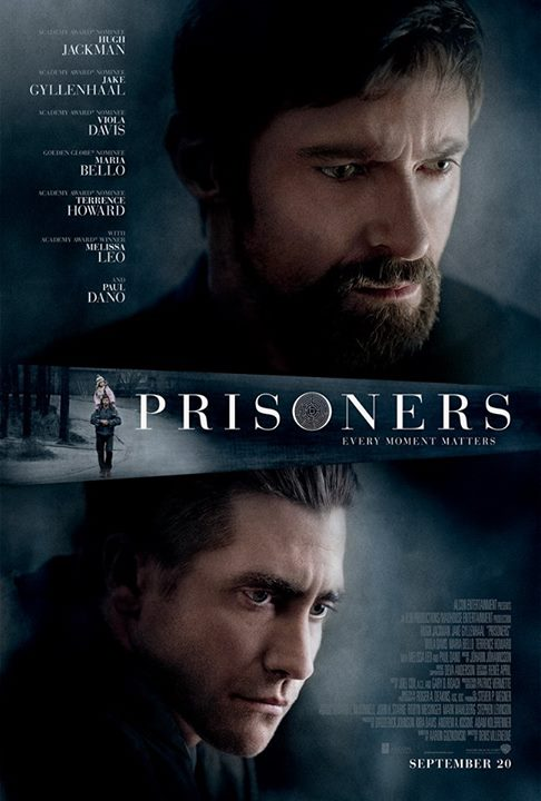 New Poster, Trailer For PRISONERS With Jackman, Davis & Gyllenhaal
