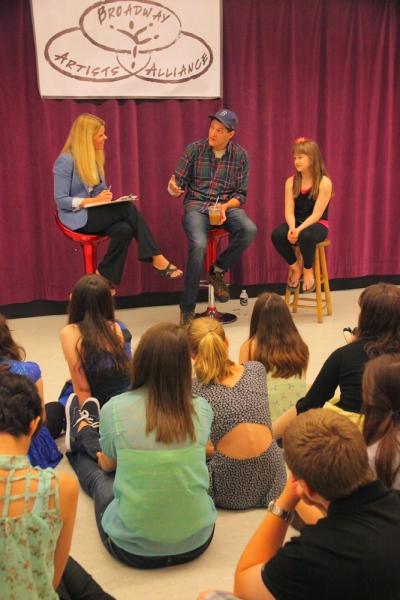 Jennifer Johns, Gabriel Ebert, and Emma Howard