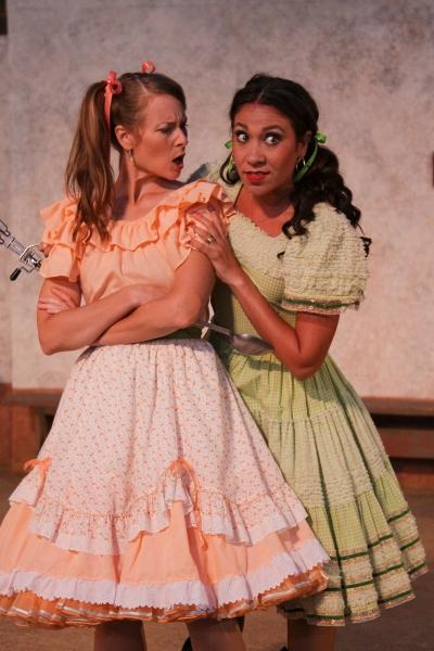 Elena Wright and Amanda Salazar Photo