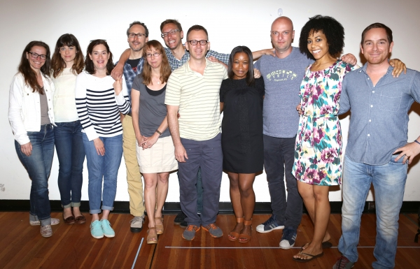 Colleen Werthmann,  Susannah Flood, Jennifer R. Morris, Gibson Frazier, Playwright Anne Washburn, Composer Michael Friedman, Director Steve Cosson, Quincy Tyler Bernstine, Matthew Maher, Nedra McClyde and Sam Breslin Wright