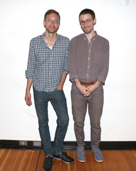 Composer Michael Friedman and Musician Mike Brun  Photo