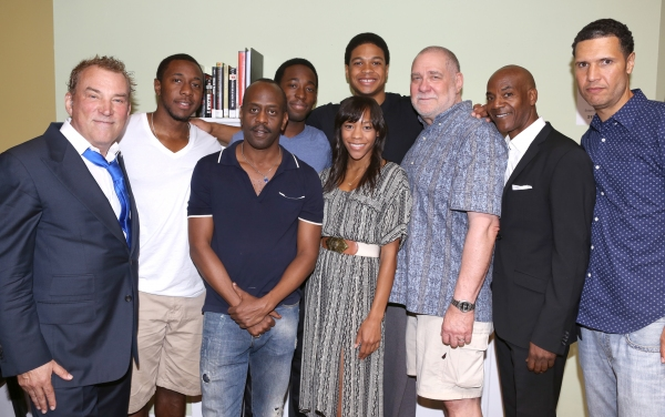 Director Des McAnuff, Anthony Gaskins, K. Todd Freeman, Jeremy Tardy, Ray Fisher, Nikki M. James, Richard Masur, John Earl Jelks and Playwright Will Power