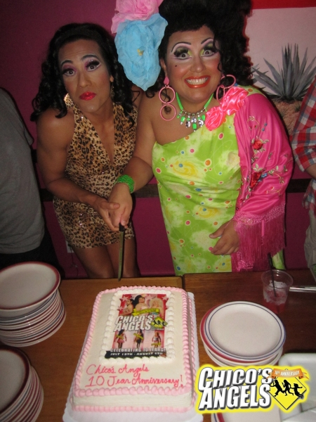 Photo Flash: CHICO'S ANGELS Celebrate 10 Years Onstage