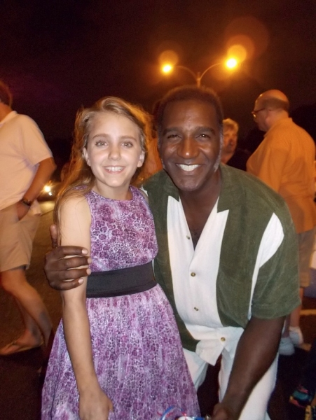 Lilly Kanterman says goodbye to Norm Lewis