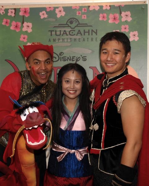 David Lamarr, Jennifer Hubilla, and Daniel J. Edwards Photo