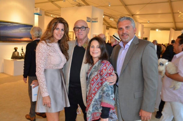 Pamela Cohen, Ted and Ruth Baum, Nick Korniloff Photo
