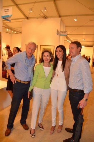 Stan Warshawsky and Sandra Warshawsky, Cindy Mark and Matthew Mark