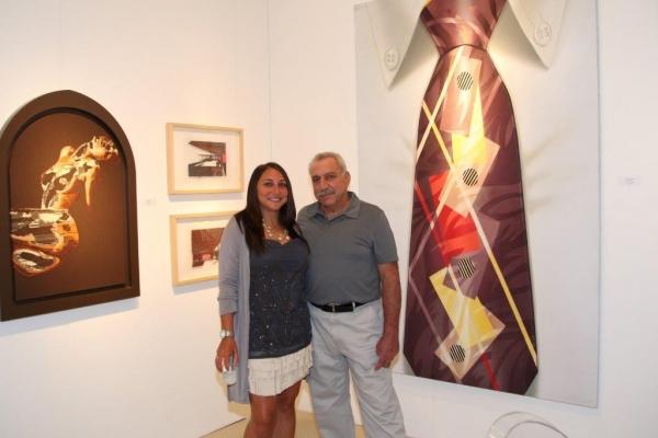 Stephanie Kechian and Richard Kechian