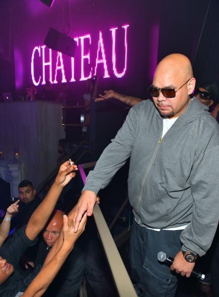 Photo Coverage: Hip Hop Artist Fat Joe Hits Chateau