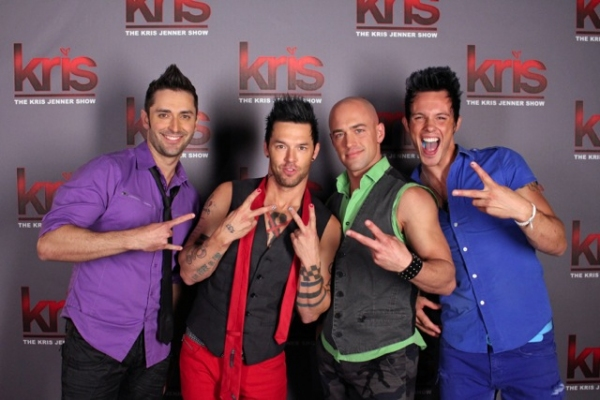 Photo Flash Recycled Percussion Performs On Kris With
